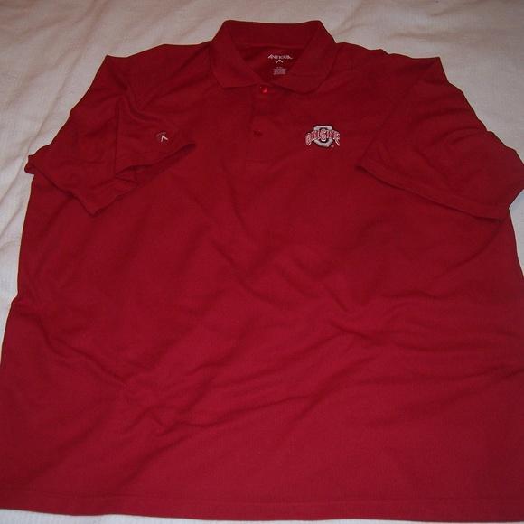 Antigua Other - Ohio State Buckeyes Antigua Golf Polo Shirt